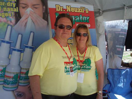 Ed and Lorna at Bikefest Small
